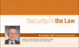 Security & the Law Default