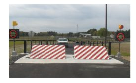 National Guard Base airport installs wedge barricade system for tighter perimeter security