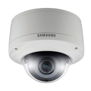 Megapixel dome camera by Samsung