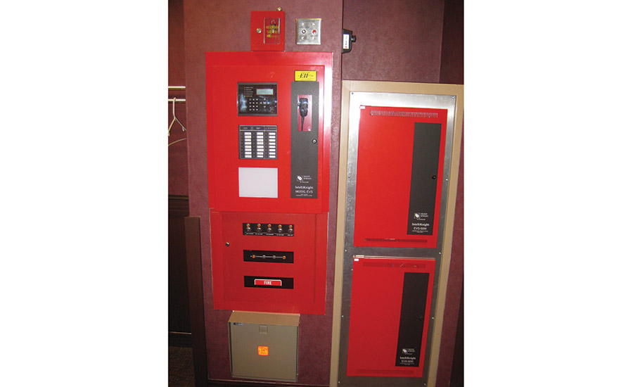 Fire systems, which often have in-building emergency notification systems