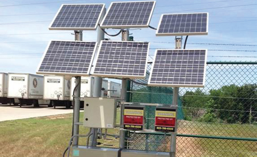 Electric Guard Dog fences have been solar-powered since 1991