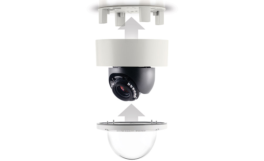 the MegaDome 4K/1080p dual-mode indoor/outdoor dome camera series