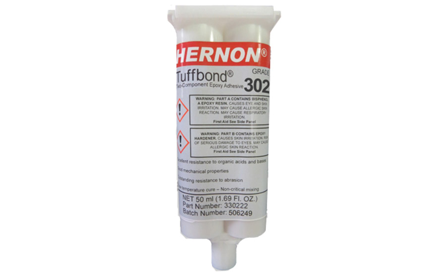Fiber Optic Center added Hernon Tuffbond 302 epoxy adhesive