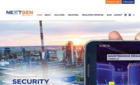 NextGen Security Website's Easy Navigation