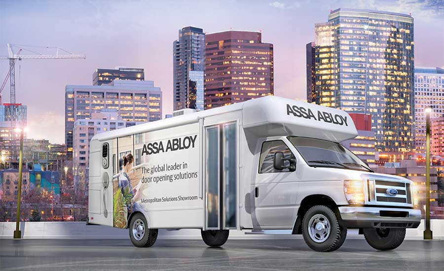 ASSA ABLOY Showroom Features Multi-Family, Urban Solutions
