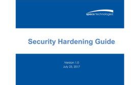 Speco Security Hardening Guide - SDM Magazine