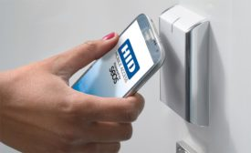 Mobile ready locks, such as this Wi-Fi lock from ASSA ABLOY Group brands Corbin Russwin and SARGENT