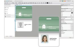 Software Features Enhanced Photo ID Badging System