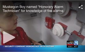 Security Company Honors Boy With Autism