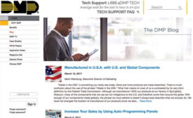DMP Introduces New Blog Design