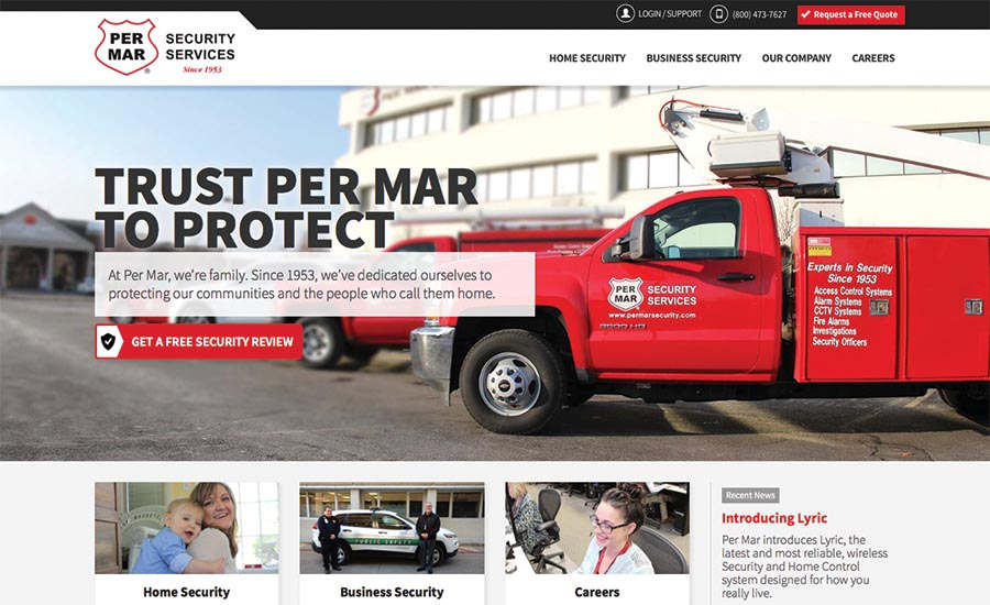 Per Mar Security Services Launches New Website