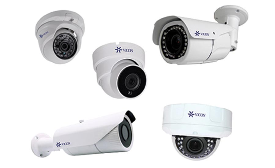 Vicon Industries introduced an extensive new line of H.265 megapixel IP cameras