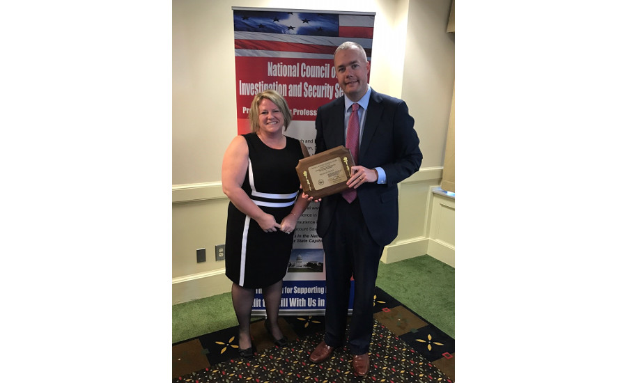 Duffy Receives NCISS Award