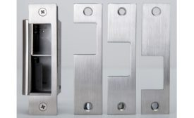 Built-In Latch Monitored Featured On This Eelectric Strike