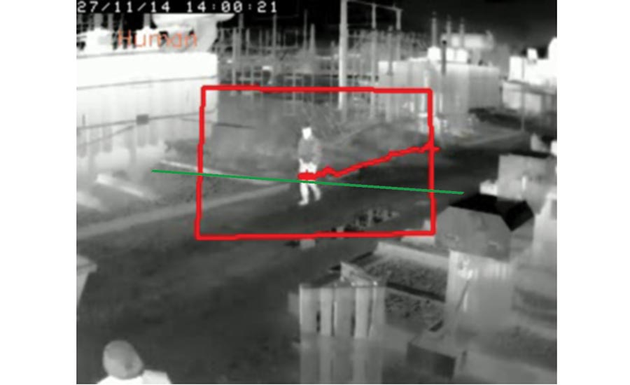 Combining thermal cameras with analytics allows operators to determine not only when an individual enters a particular area, but also in which direction they are headed