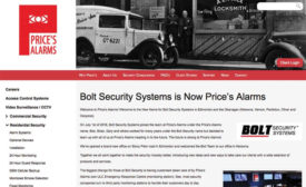 Bolt Security Updates Website