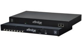 Managed Receiver Has An Integral PoE Switch