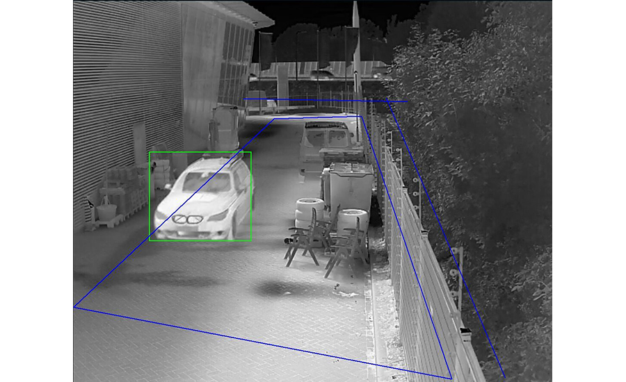 Thermal Area Intrusion Video Analytics SDM