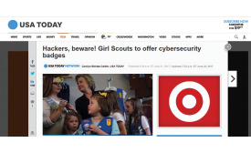 Girls Scouts to Begin Earning Cybersecurity Badges