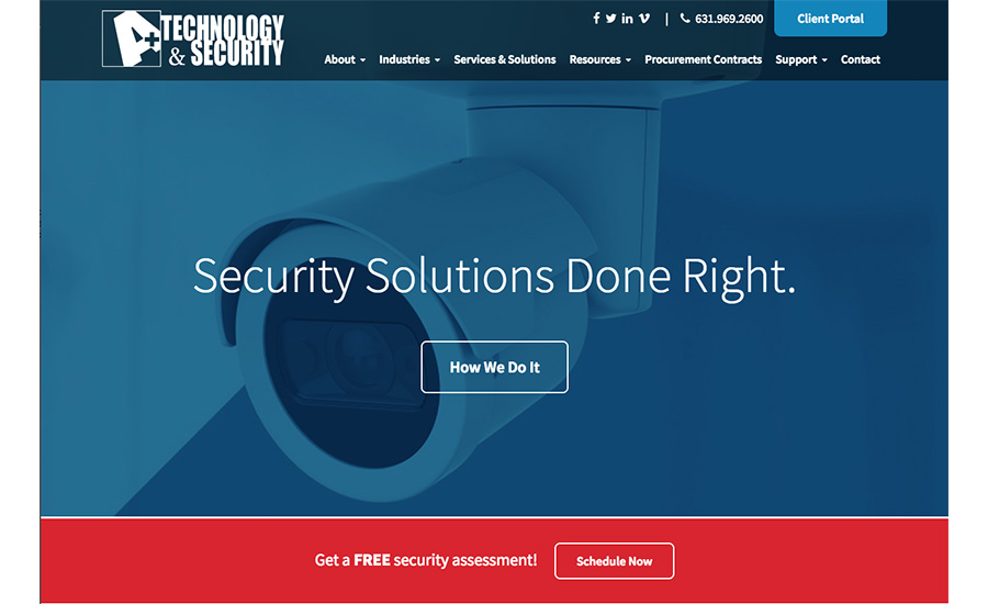A+ Technology & Security Launches Updated Website