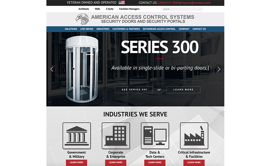 American Control Systems New Website