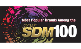 The Most Popular Brands Among the 2018 SDM 100 - SDM Magazine