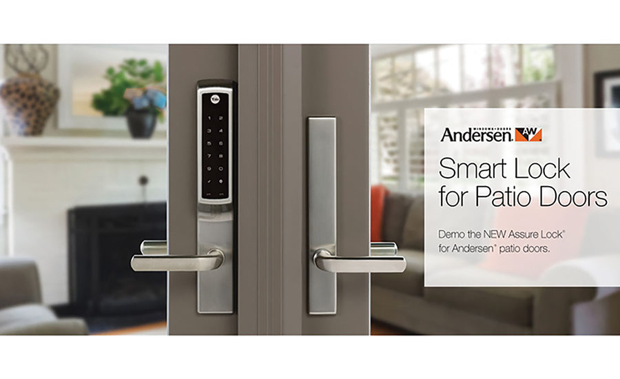 Smart Lock Is Designed Exclusively For Patio Doors 2018