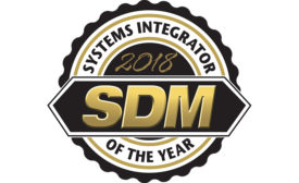 Systems Integrator of the Year(2018)