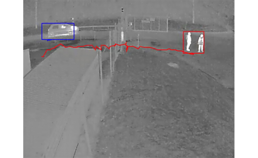 Axis Comm thermal image