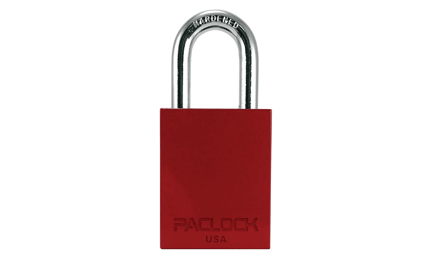 PACLOCK Aluminum Padlock Line Has Powder Coating Options