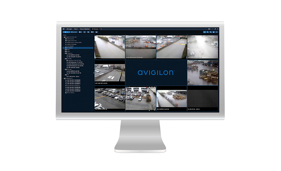 Avigilon Control Center software