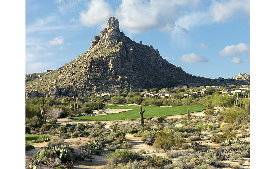 Desert Highlands Hole 14 and Pinnacle Peak