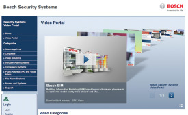 Bosch Video Portal Trains, Informs