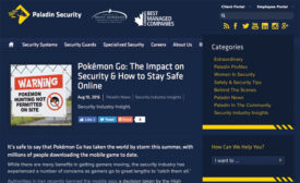Blog Addresses Pokémon Go Craze
