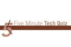 5 Minute Tech Quiz Banner