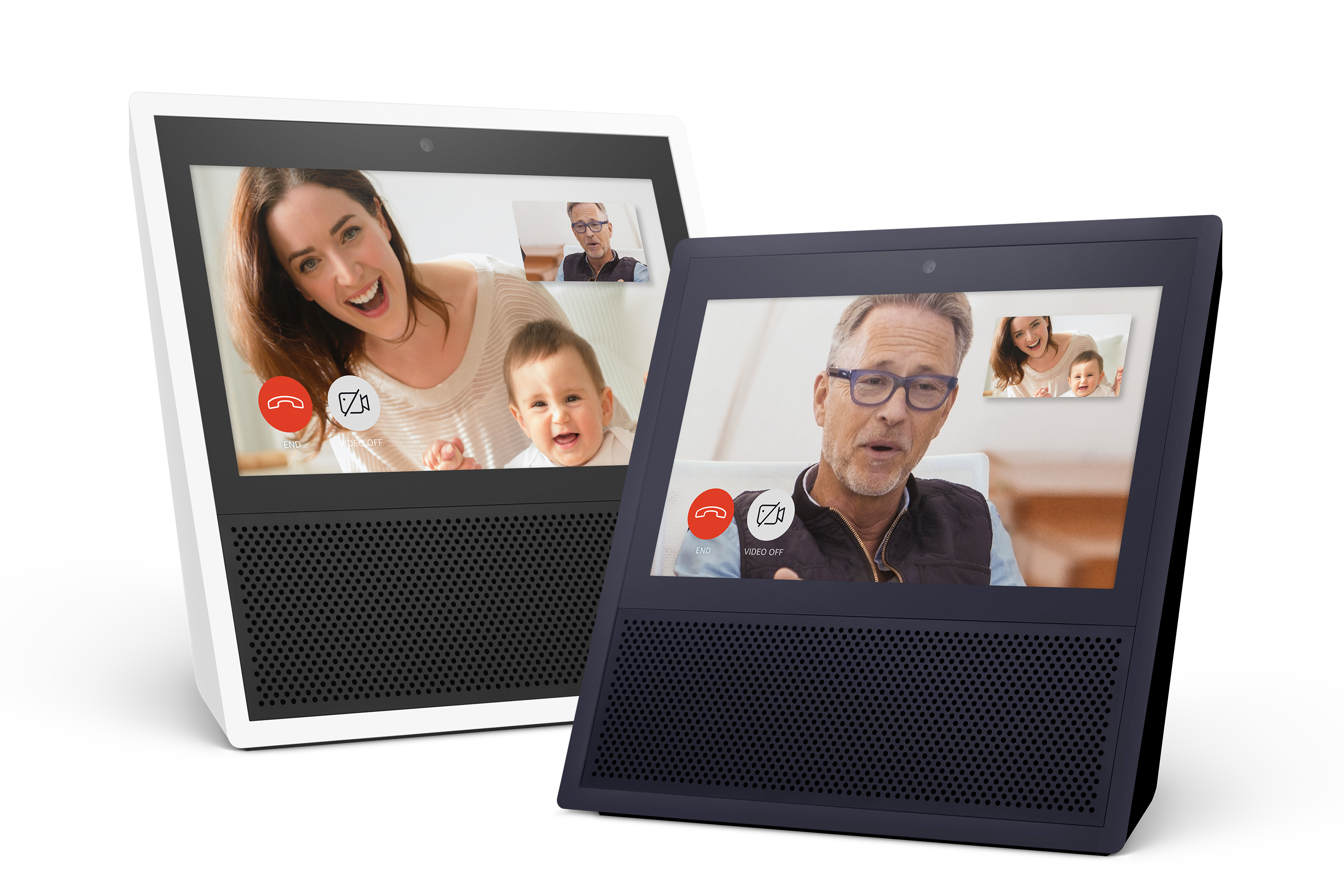 Amazon Echo Show, Black and White