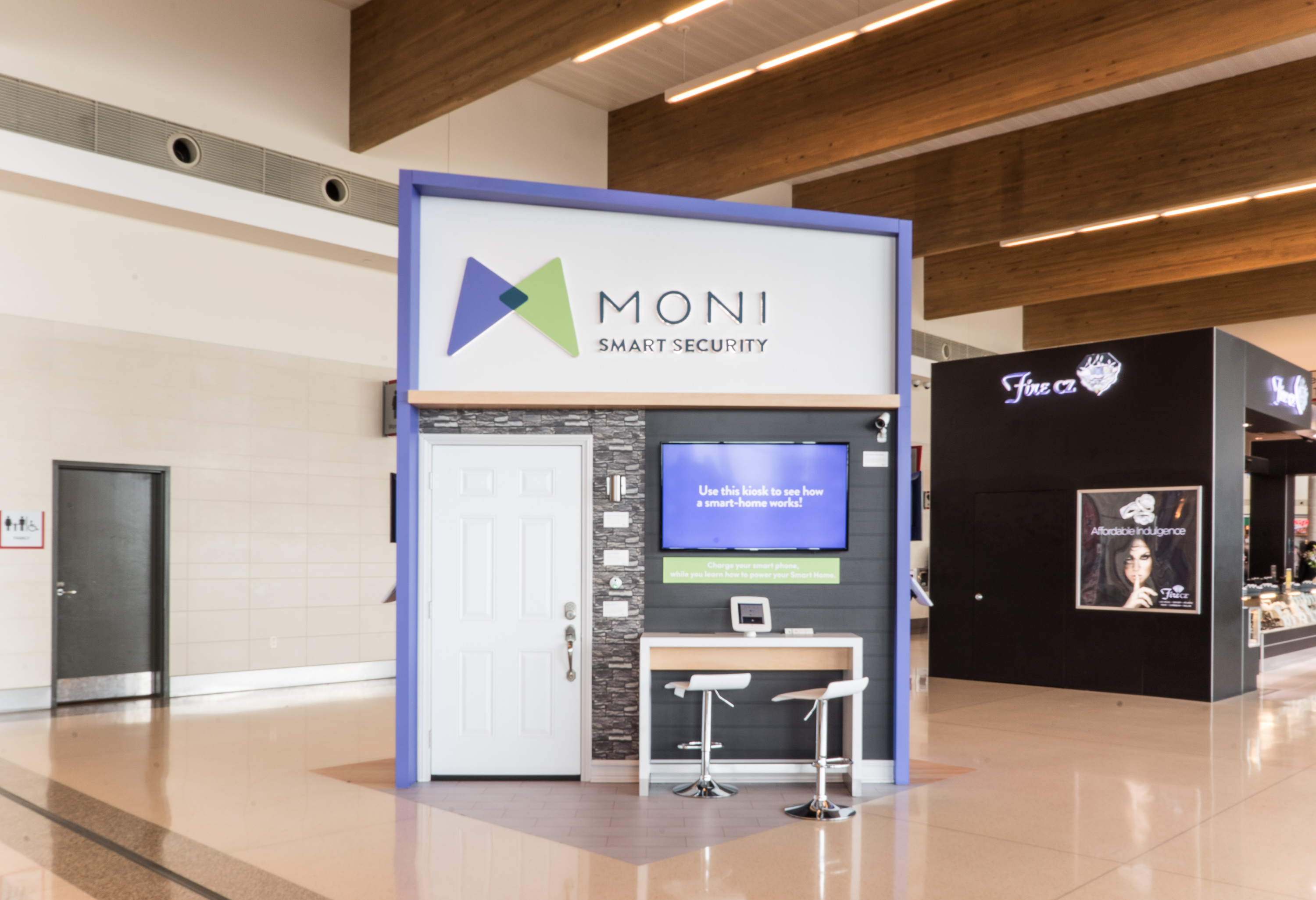 MONI Introduces Interactive Kiosk At Dallas Love Field