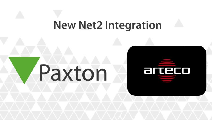 Paxton's Net2 Access Control System Integrates With Arteco