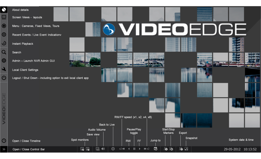 VideoEdge Network Video Recorder (NVR) from Johnson Controls