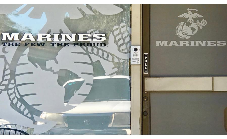Aiphone Video Intercoms Protect Military Recruiting Centers