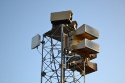Blighter E-scan radars secure the perimeter of a Middle Eastern air base