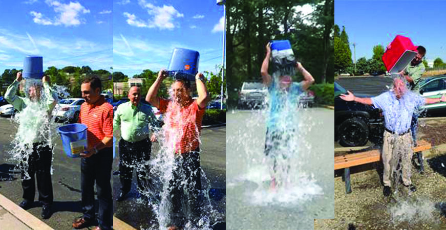 TRI-ED executives take part in the 2014 ALS Ice Bucket CHallenge