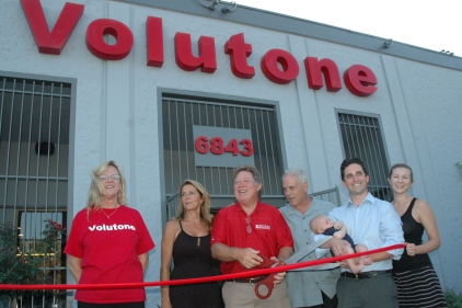 Volutone Ribbon Cutting