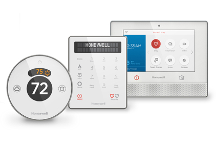 Exhibiting At The Consumer Electronics Show For The First Time, Honeywell  Is Showing Its New Lyric Security And Connected Home Platform, Featuring A  Uniform ...