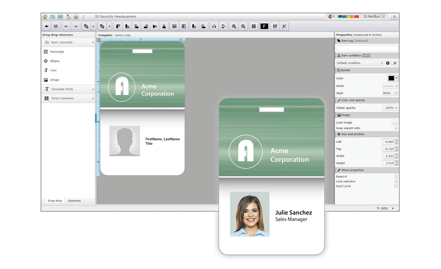 Photo Id Badging System Added To Access Software   2016-11-16   SDM