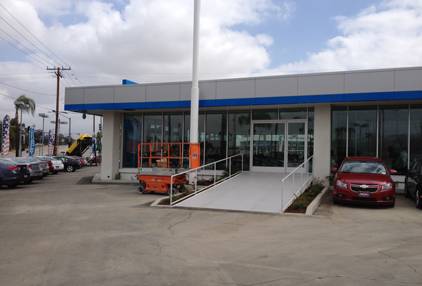 Tom Clark Chevy >> Lilin Joins Forces On Large Car Dealership Renovation 2013 09 17