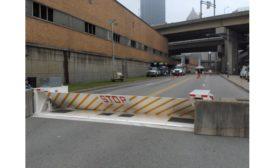 Delta barrier