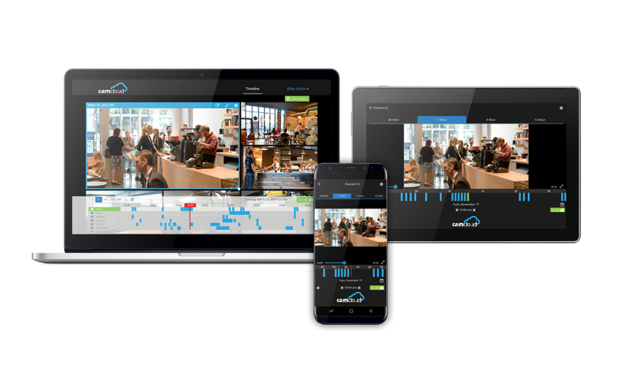 Camcloud Cloud Video Solution Manages Unlimited Cameras
