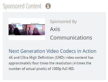Axis Next Gen Video