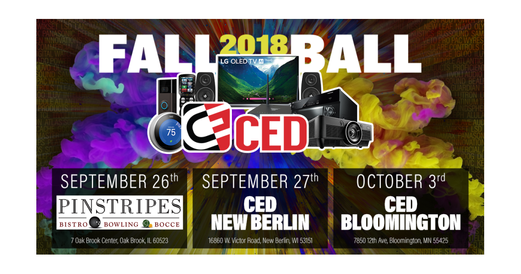 C.E.D. Fall Ball logo